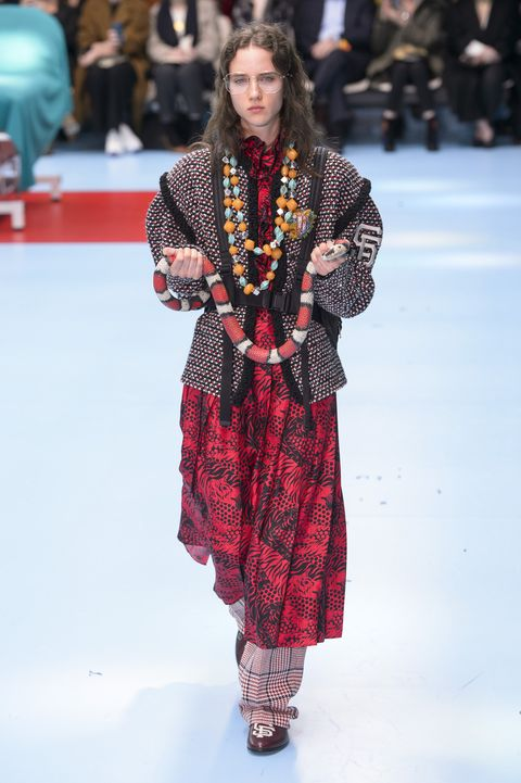 c3d6e985d07 90 Looks From Gucci Fall 2018 MFW Show – Gucci Runway at London ...