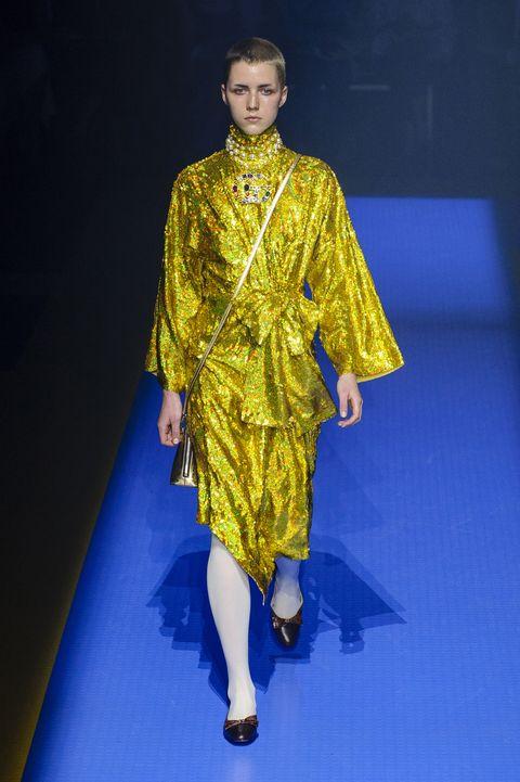 4b0534e0dc3 Gucci SS18 Runway Show - Gucci Collection Fashion Week Spring 2018