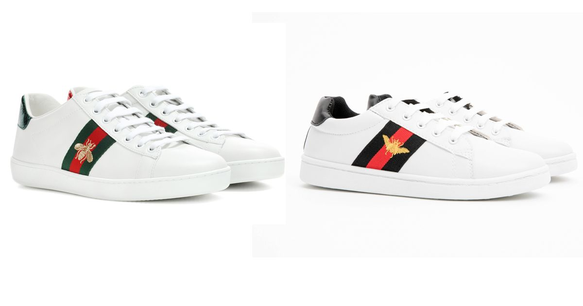 Poundland is selling £9 Gucci trainers