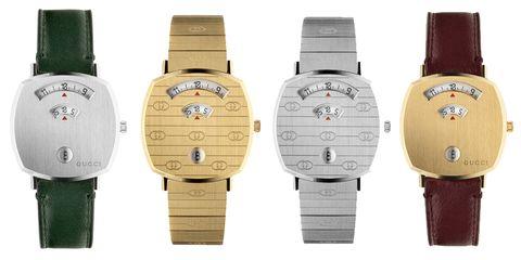 06ddb96b096 Gucci Reveals New Unisex Watch At Baselworld
