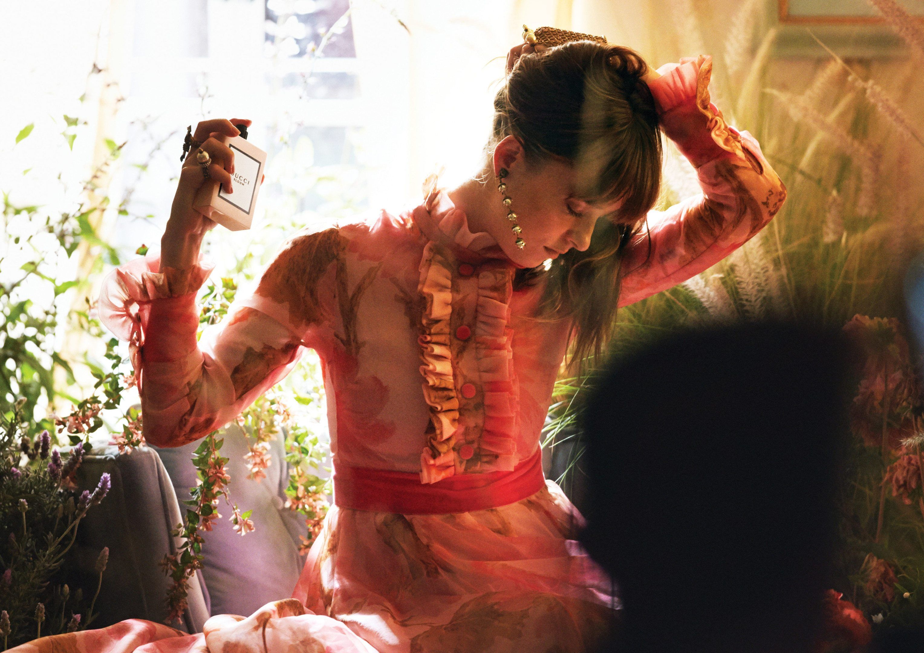 Dakota Johnson for Gucci Bloom