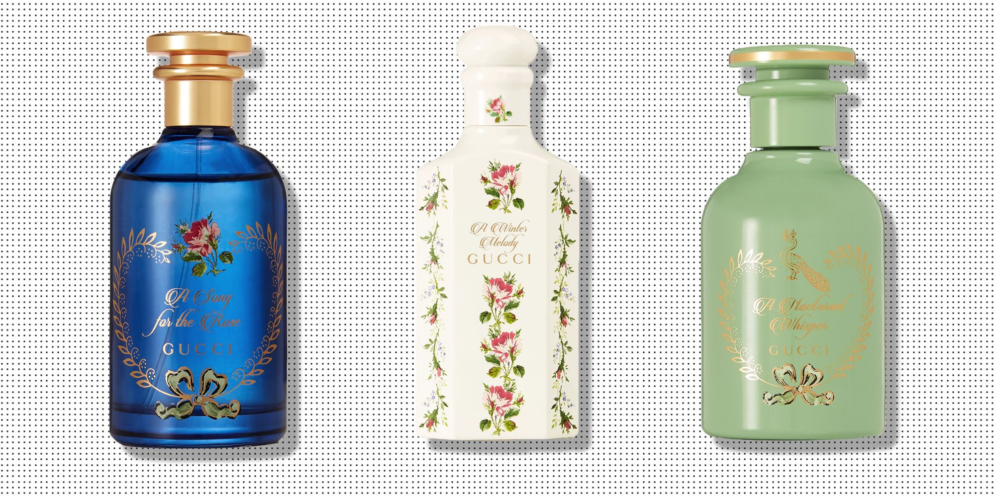 Gucci's Seriously Pretty 'Alchemist's Garden' Perfume Collection Is All You Need This Valentine's Day