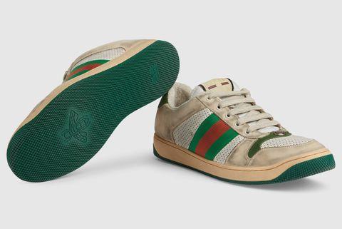 78851061b50 Gucci Screener Leather Sneaker