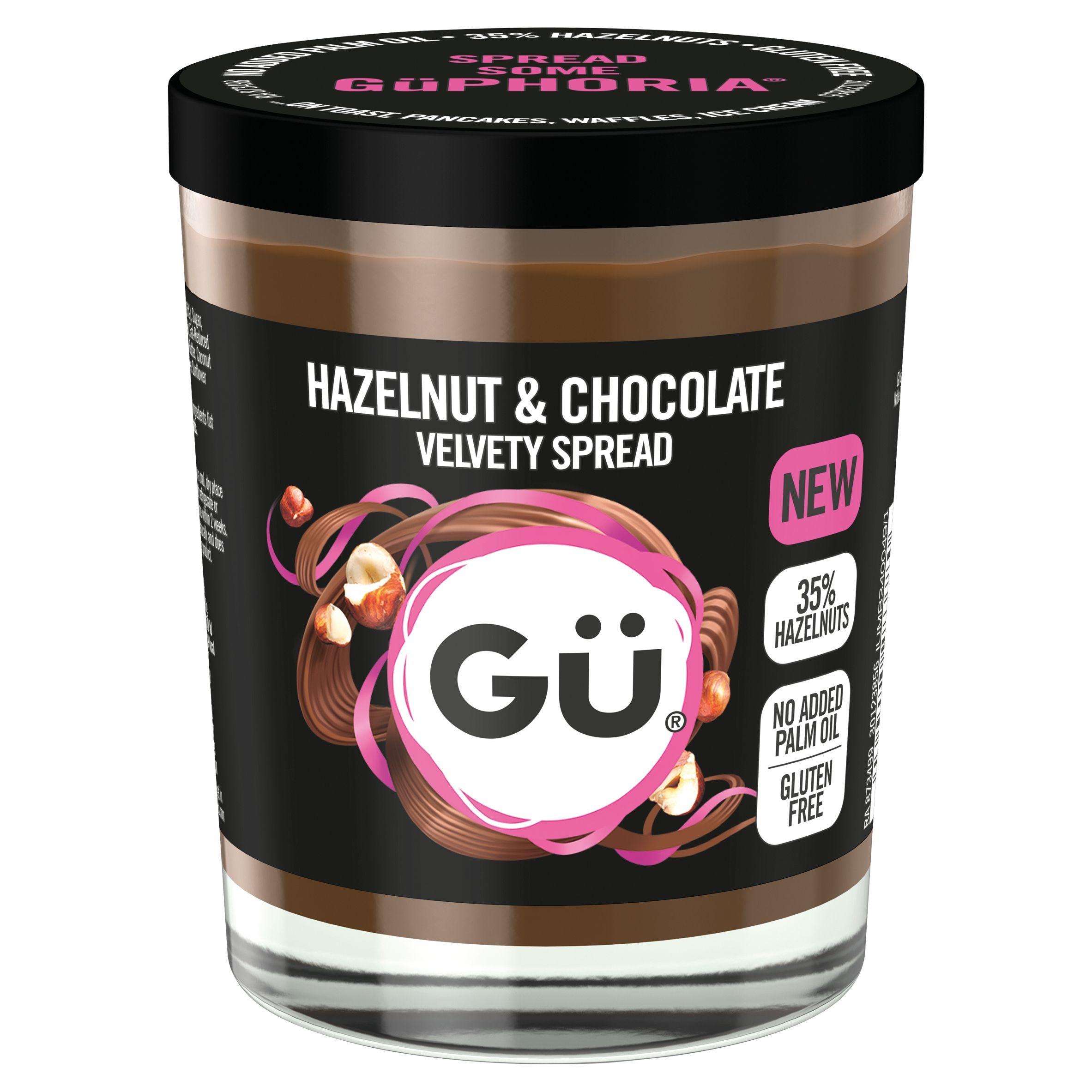 Gu chocolate hazelnut spread