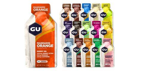 10 Energy Gels for Marathon or Half Marathon Training and Racing