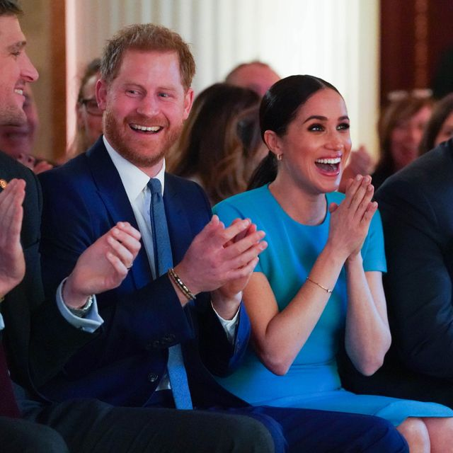 guess which celebrity turned up to meghan and harry's wedding reception in fancy dress