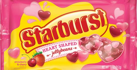 Starburst S New Heart Shaped Jellybeans Are Here For Valentine S Day