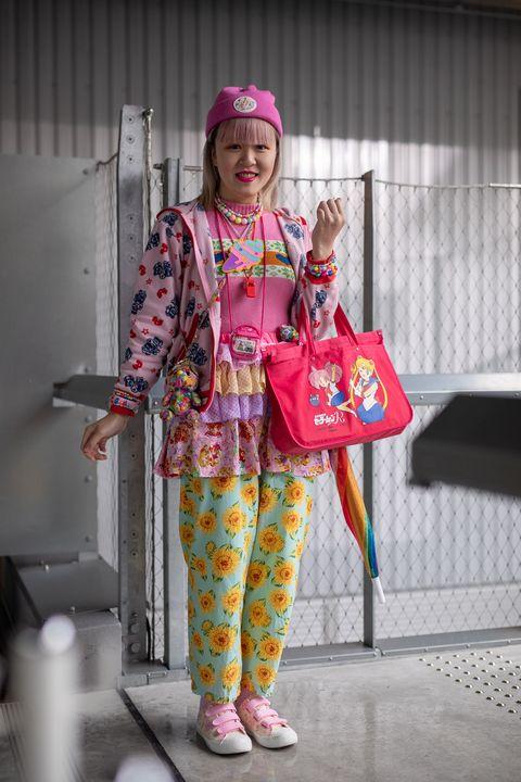 street style oct 17 rakuten fashion week tokyo 2021 ss