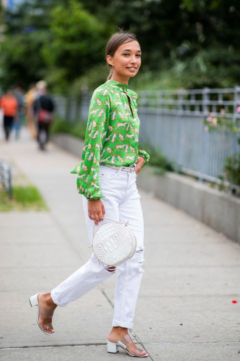 Street Style - New York Fashion Week September 2018 - Day 3