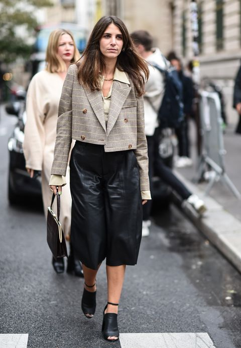Street Style : Paris Fashion Week - Womenswear Spring Summer 2020 : Day Seven