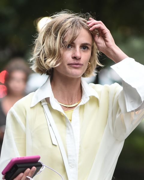Street Style - New York Fashion Week September 2019 - Day 2