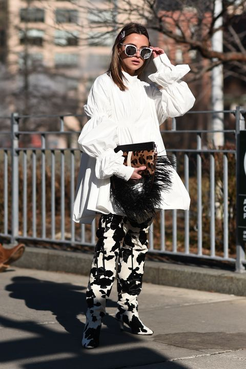 Street Style - New York Fashion Week February 2019 - Day 3