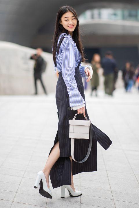 Street Style - Hera Seoul Fashion Week 2019 F / W - Jour 2