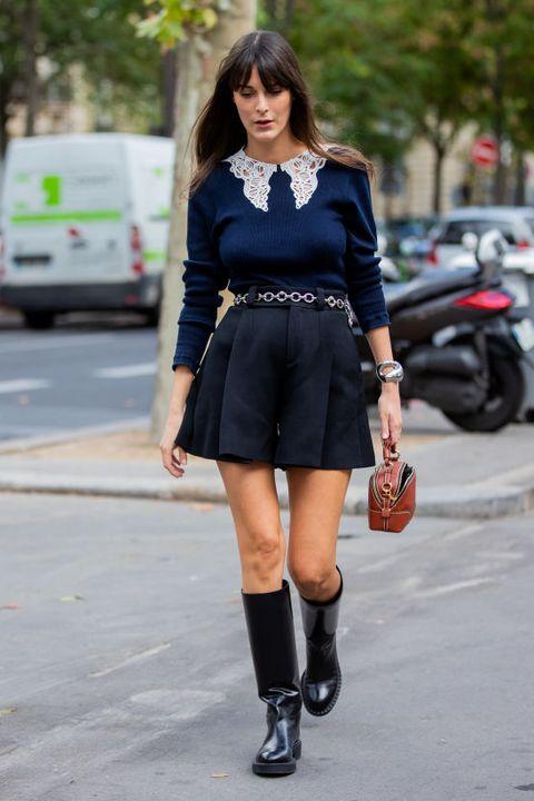street style at paris fashion week   womenswear spring summer 2021  day four