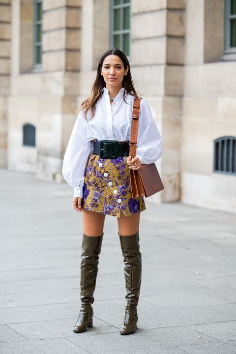 16 Cute Thigh High Boots Outfit Ideas For Fall 2020