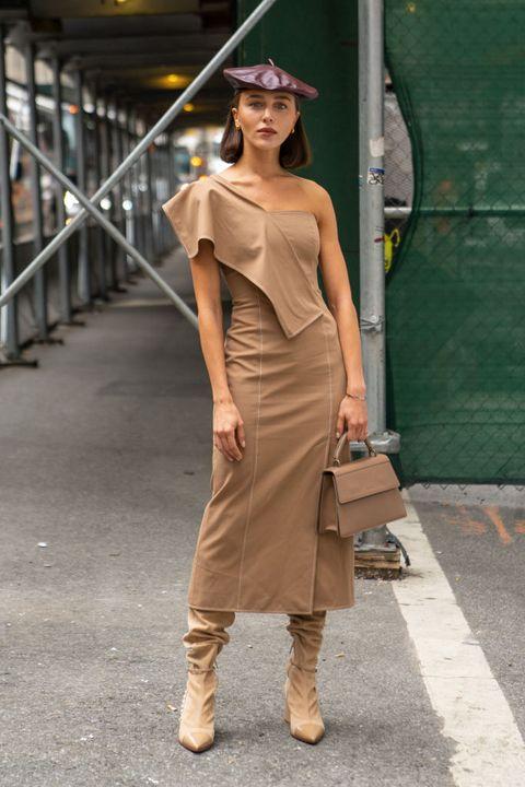 Street Style - New York Fashion Week September 2019 - Day 6