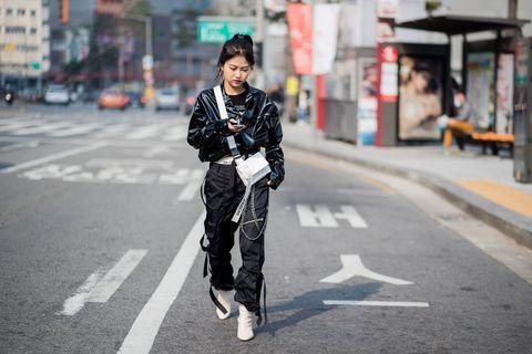 Street Style - Hera Seoul Fashion Week 2018 F/W