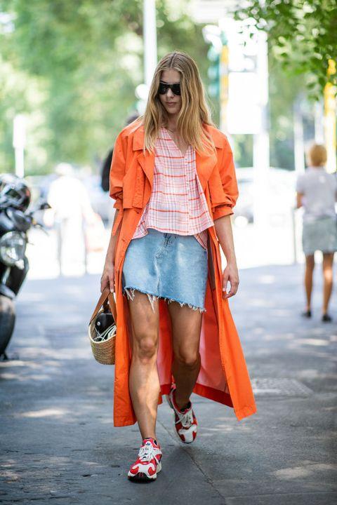 gonna jeans moda estate 2021