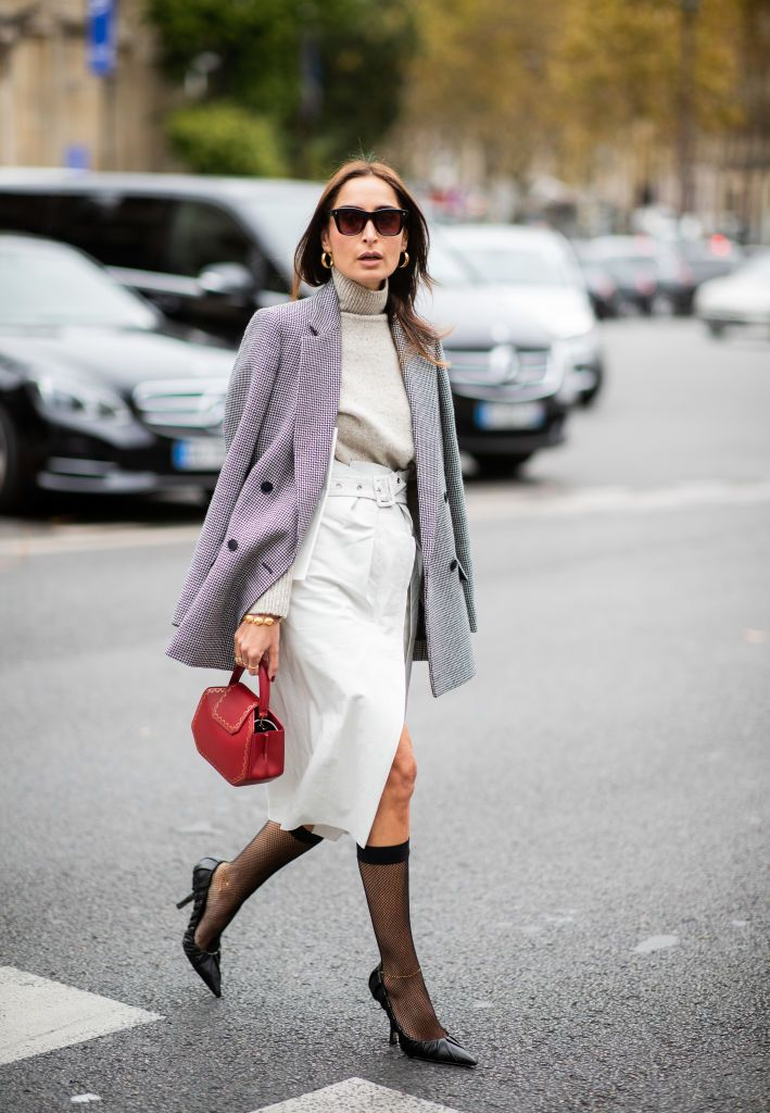 How to wear socks with heels and sandals