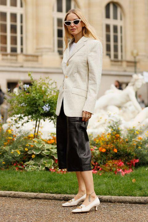 Street Style : Paris Fashion Week - Womenswear Spring Summer 2020 : Day Three