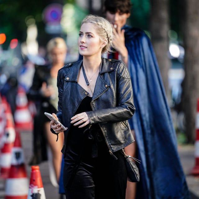 Street Style In Paris - April 2019