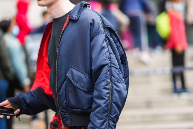 street style at  paris fashion week menswear spring summer 2022