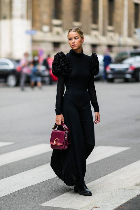 milano fashion week street style vestiti moda autunno 2021