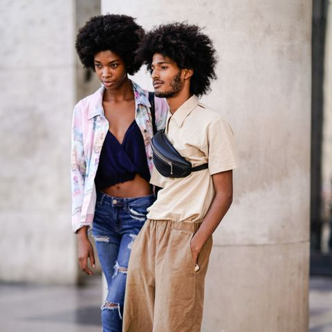 Street Style - Paris Fashion Week - Menswear Spring/Summer 2018 : Day Three