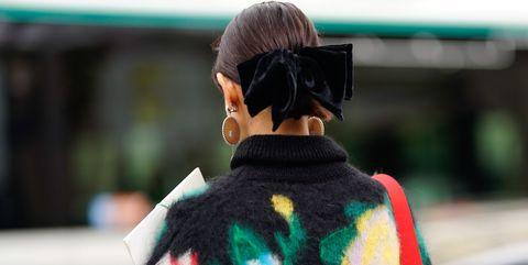 Street Style : Paris Fashion Week Womenswear Spring/Summer 2019 : Day Nine