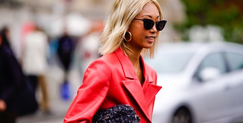 street style  paris fashion week womenswear springsummer 2019  day nine