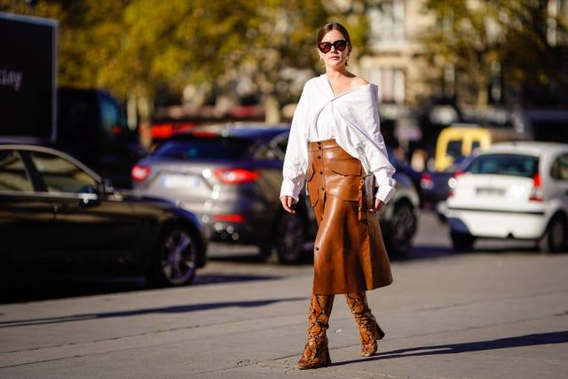 street style paris fashion week womenswear spring summer 2019  day three