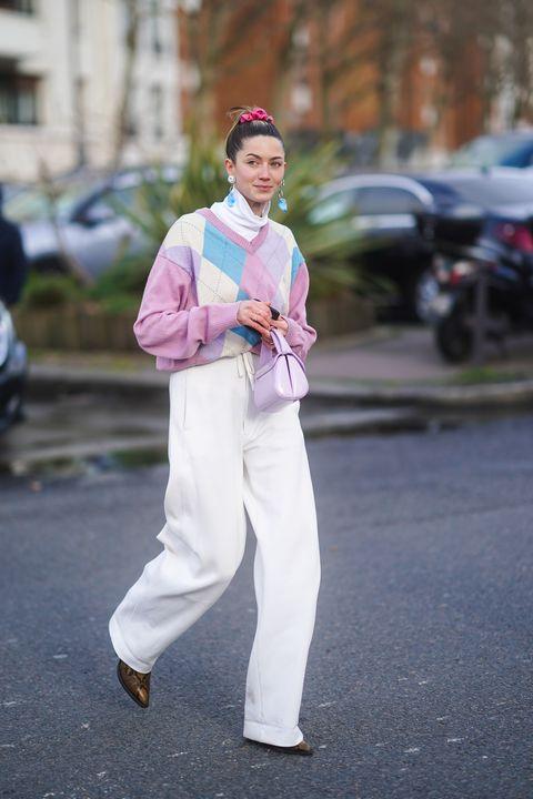 street style  paris fashion week  womenswear fall winter 2020 2021 day nine