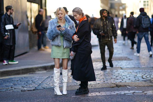 street style  lfwm january 2020