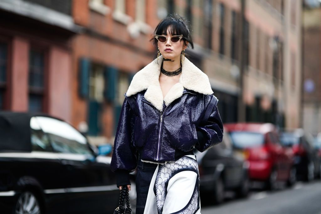 J.O.A.'s Faux Fur Shearling Jacket Is Truly Peak Fall