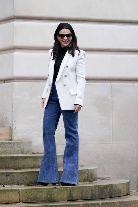 rebajas(mk) original mejor calificado Código promocional Blazer blanca para todos tus looks