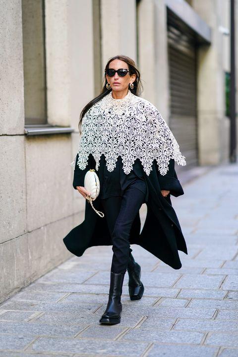 street style at paris fashion week   womenswear spring summer 2021  day seven