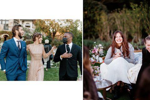 les invités au mariage