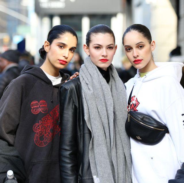 2020秋冬コレクション、モデル、ストリートスタイル