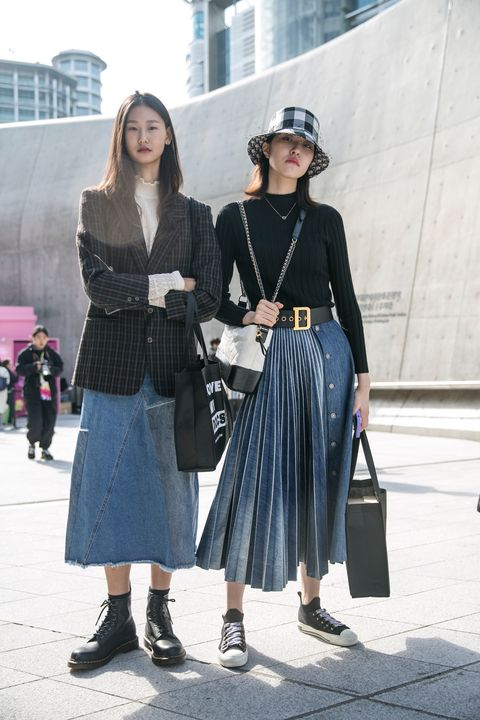 street style seoul fashion week 2020 ss day 5