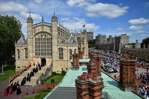 Order Of The Garter Service At Windsor Castle