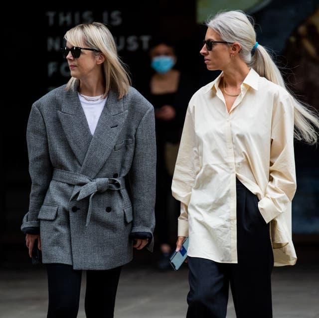 street style lfw september 2021