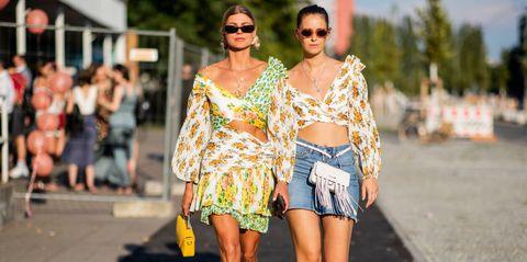 street style   berlin fashion week springsummer 2019   july 5, 2018