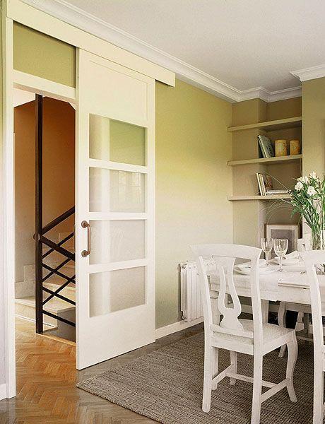 Puertas correderas sin obras for Modelos de puertas corredizas de madera