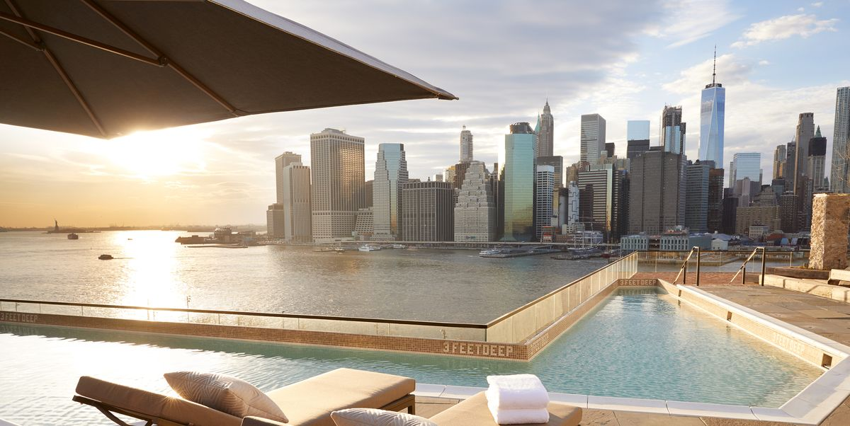 Bazaar travel guide 2018 the best swimming pools - New york hotels with swimming pools ...