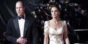 Guillermo y Kate premios Bafta