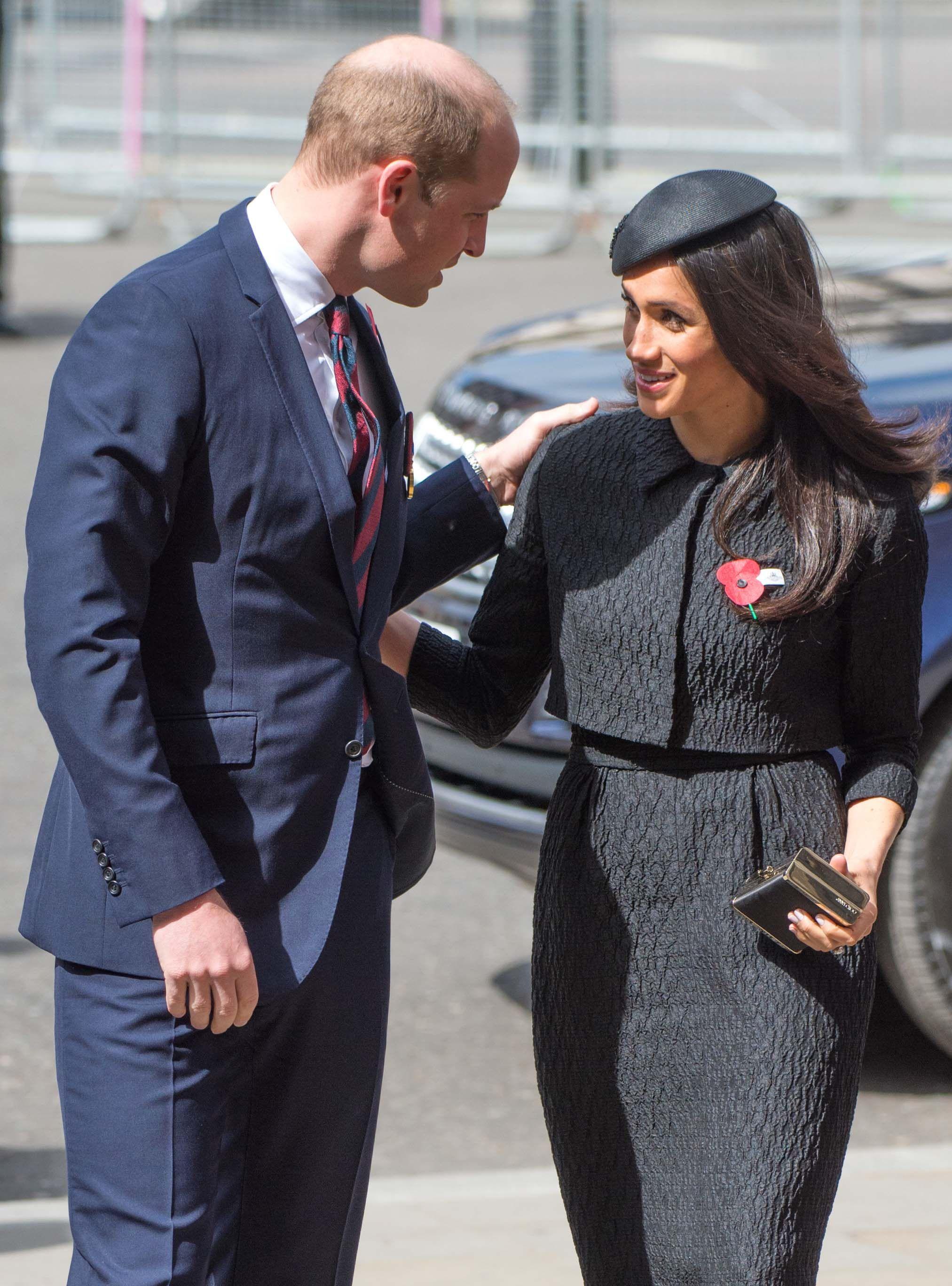 Guillermo de Inglaterra muestra su preocupación por Meghan y Harry