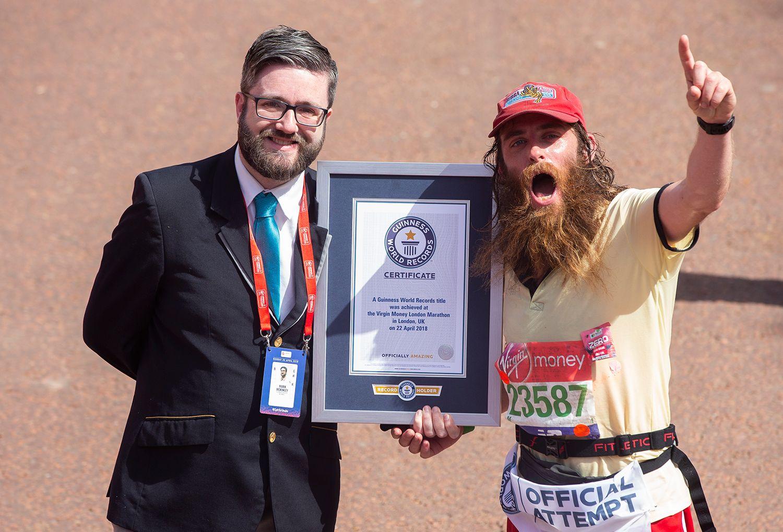Man Breaks Guinness Record Dressed As Forrest Gump
