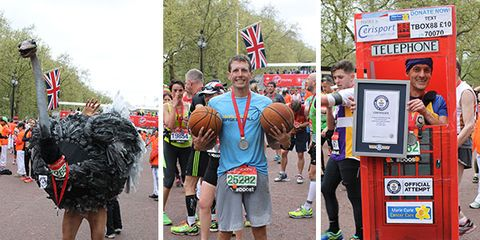 2015 London Marathon Guinness World Records