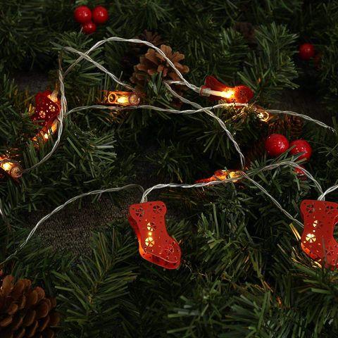 Guirnalda de adornos navideños