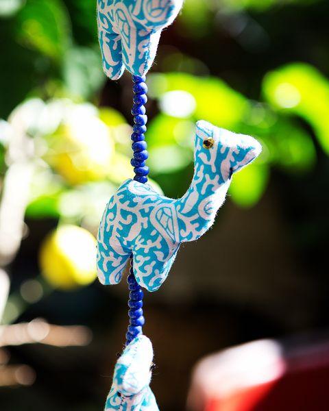 decorar con guirnaldas de tela diy